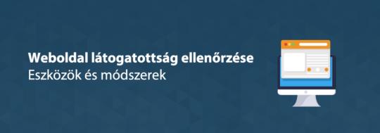 weboldal látogatottság ellenőrzés